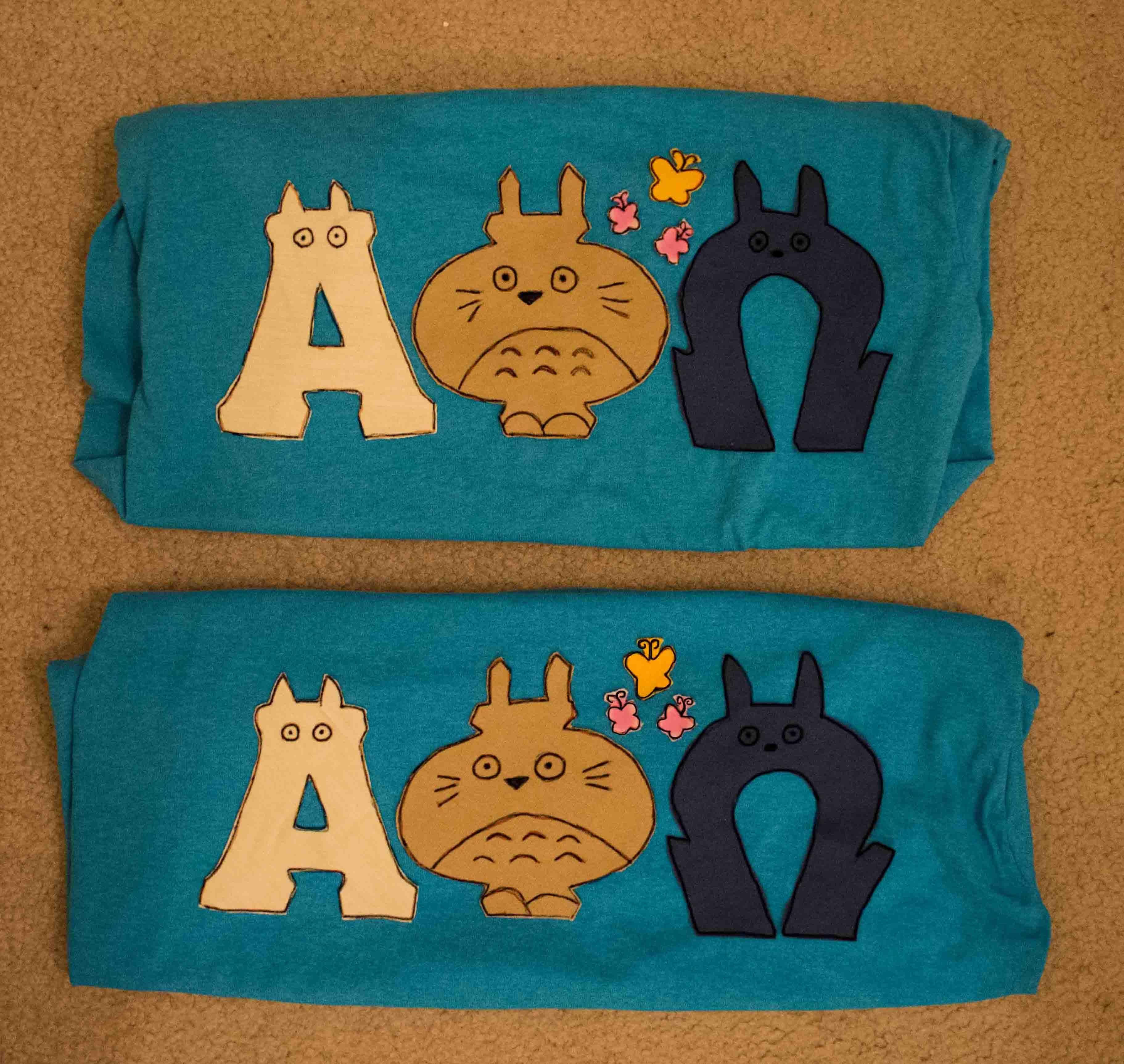 Totoro Letters! jlcwestminnie13 Lettering, Greek