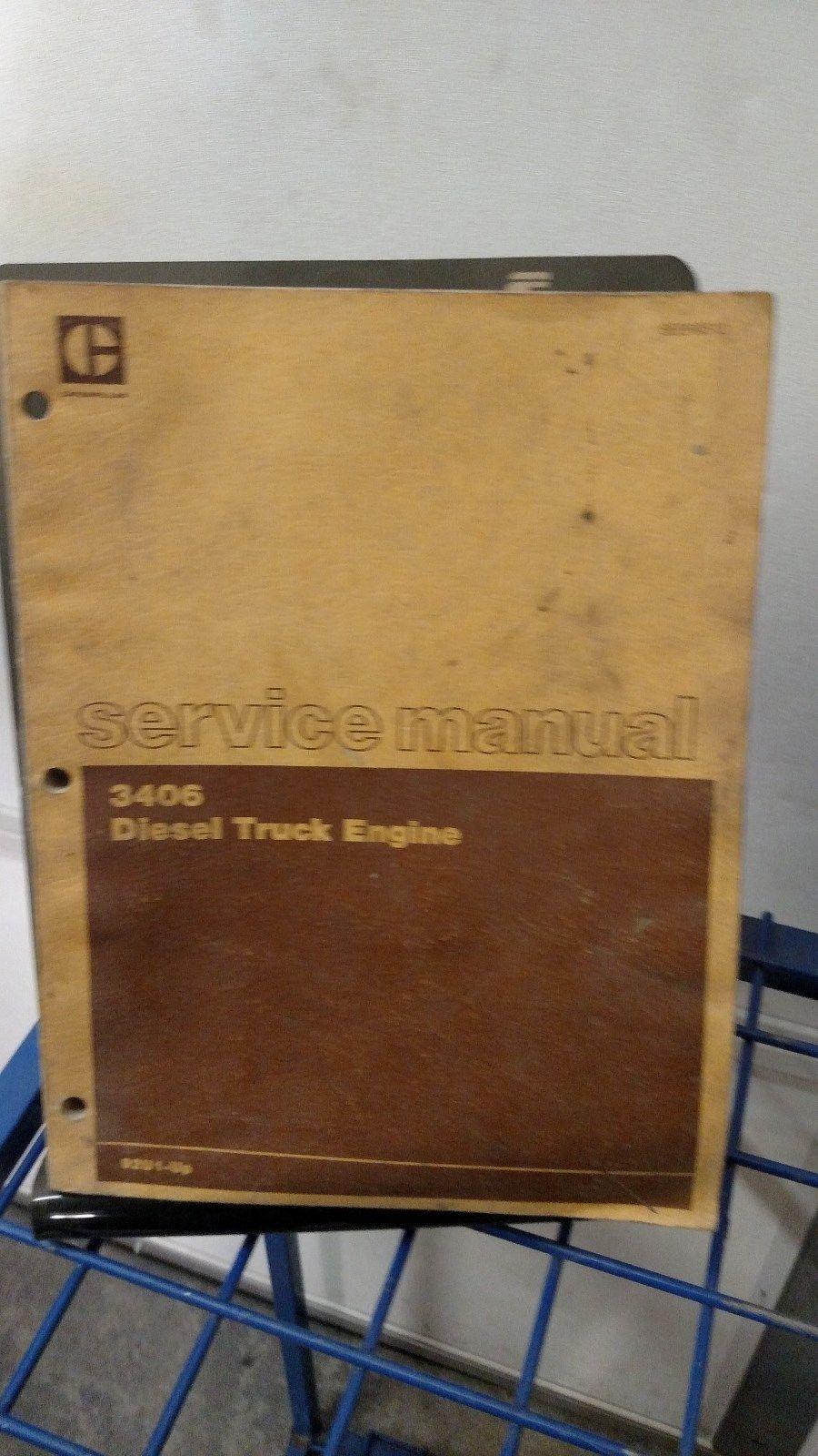 3406 caterpillar service manual