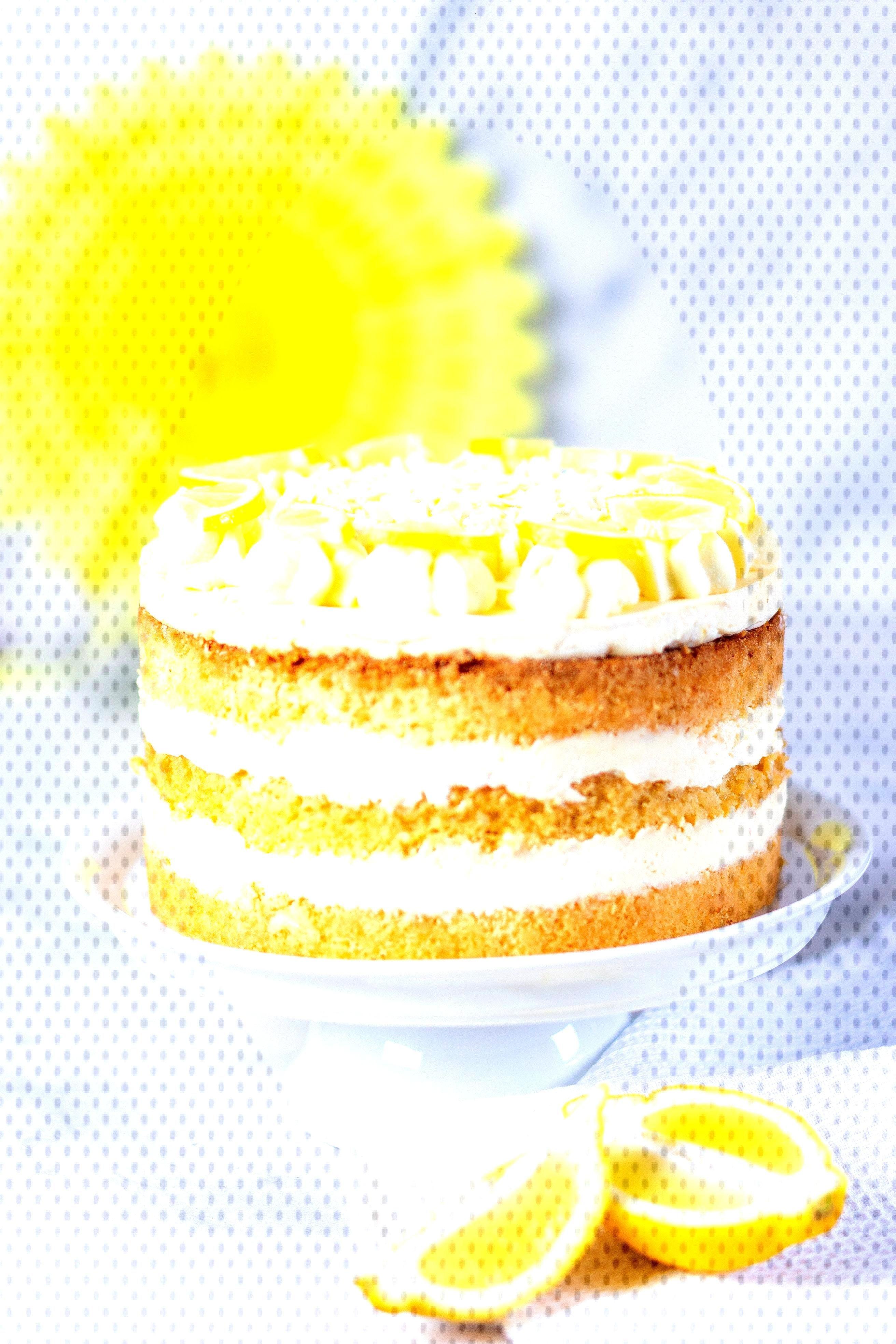 Zitronencreme-Torte Rezept - Kuchen,Torten,Füllungen amp pies -