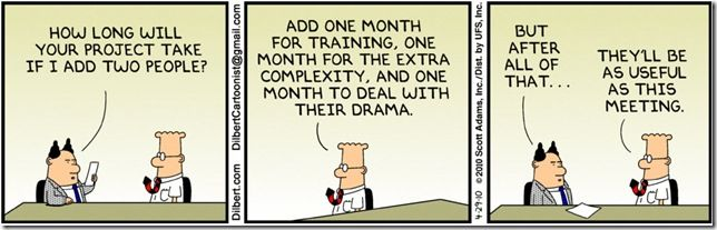 Dilbert, Project Management | Project management, Work humor, Work ...