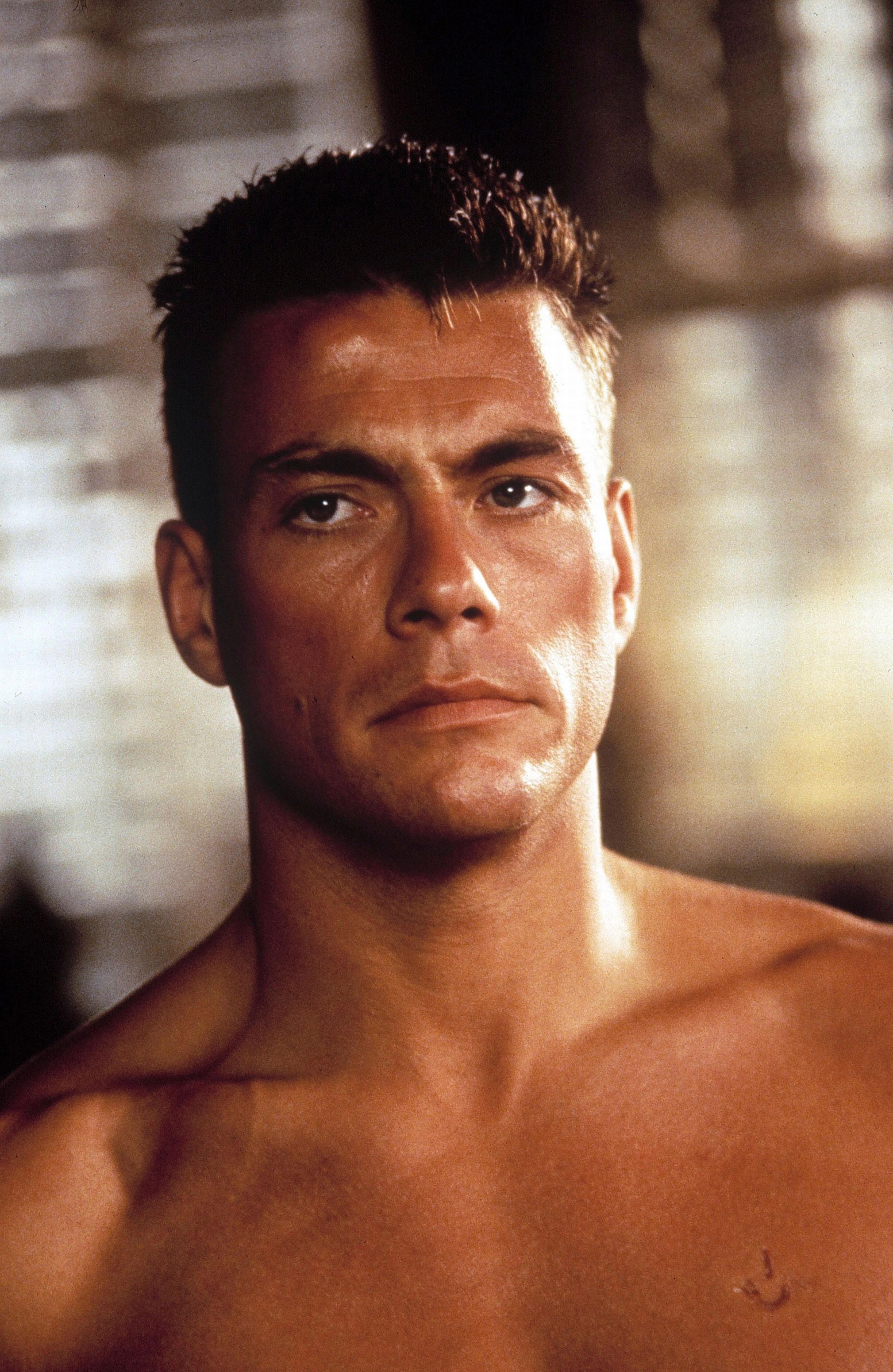 jean claude van damme looked so good back in the day but. Black Bedroom Furniture Sets. Home Design Ideas