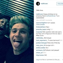 Niall Horan has chest infection -Image1