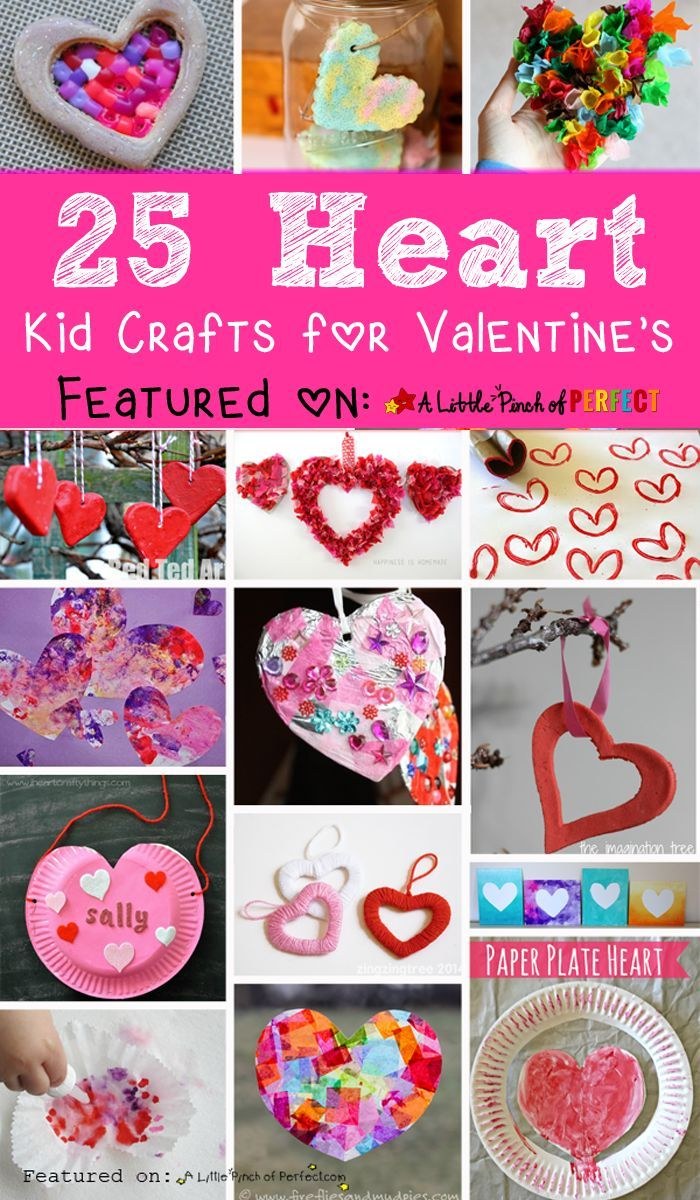 Adorable Valentine S Day Heart Craft Ideas For Kids Craft Kids