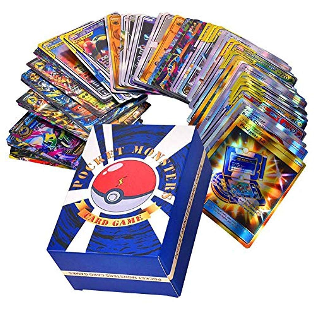Rainnao Lot De 120 Cartes Pokemon 30xteam Up 50xmega 20xtrainer
