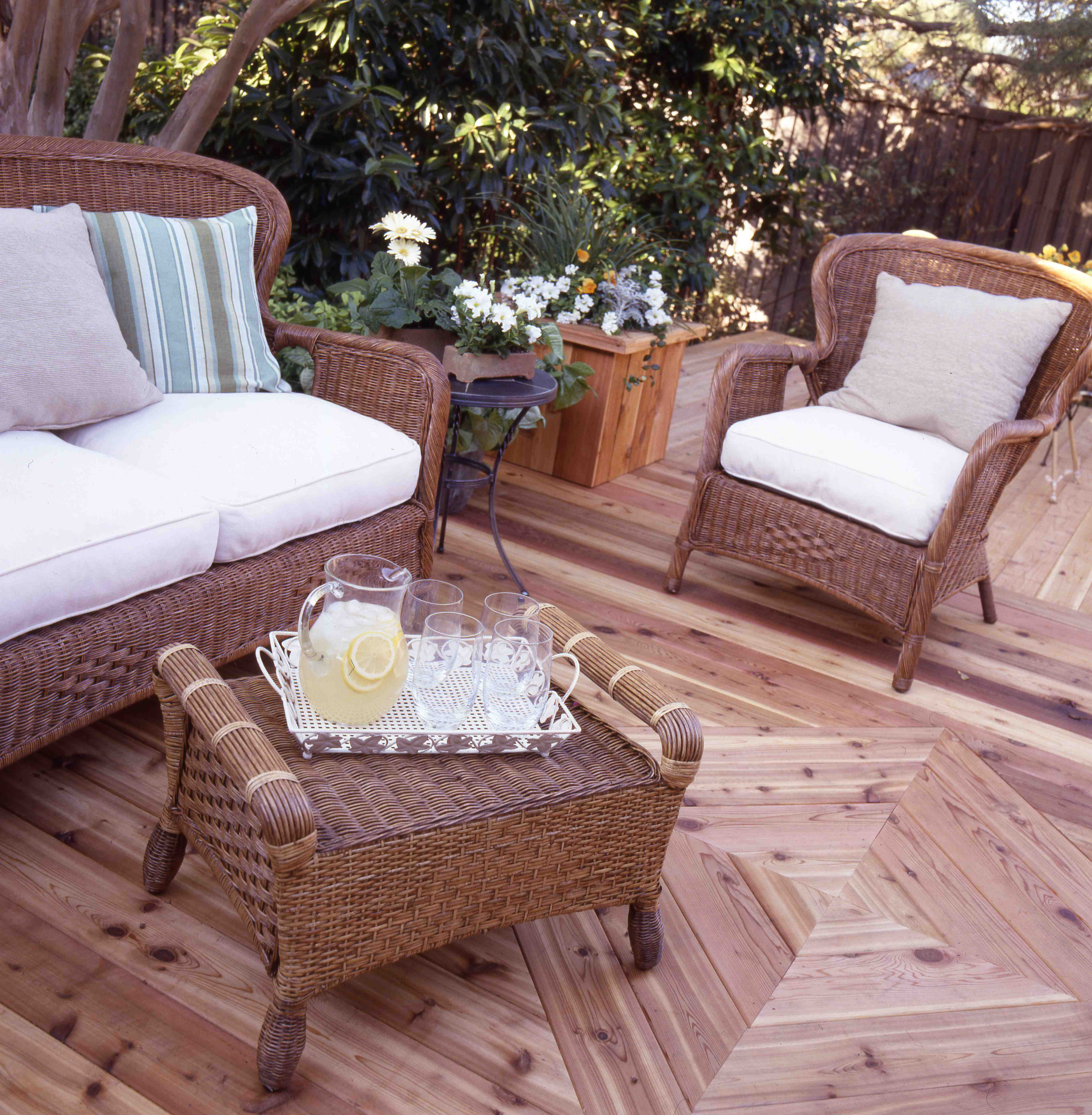 Closer look at our  natural  deck  get clear protection with Thompson s  Water Seal plus Clear Wood Protector. Closer look at our  natural  deck  get clear protection with