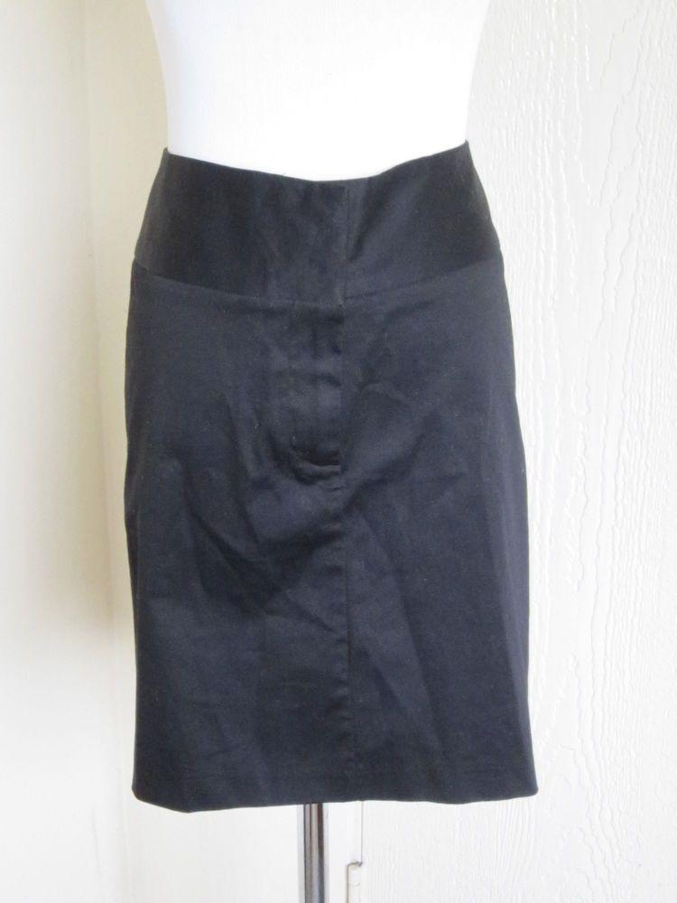 1c9d5f61f3e88 Torrid plus size 22 black cotton stretch low waist pencil mini .