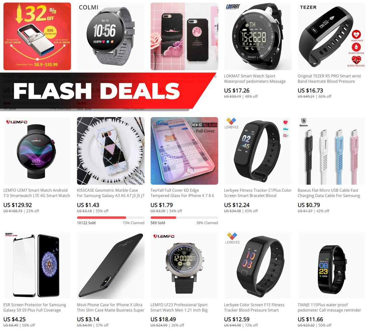 Account Suspended Consumer electronics, Flash deals