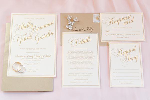 50 Ideas for Your Wedding Invitations | Wedding invitations ...