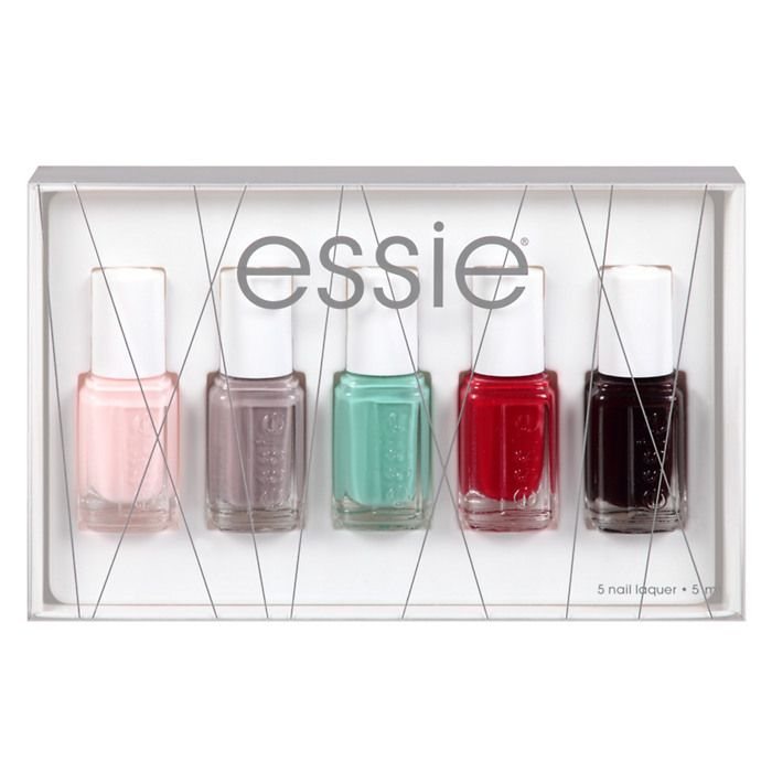 essie holiday kit | $15.00 A nail polish set is the perfect gift for ...