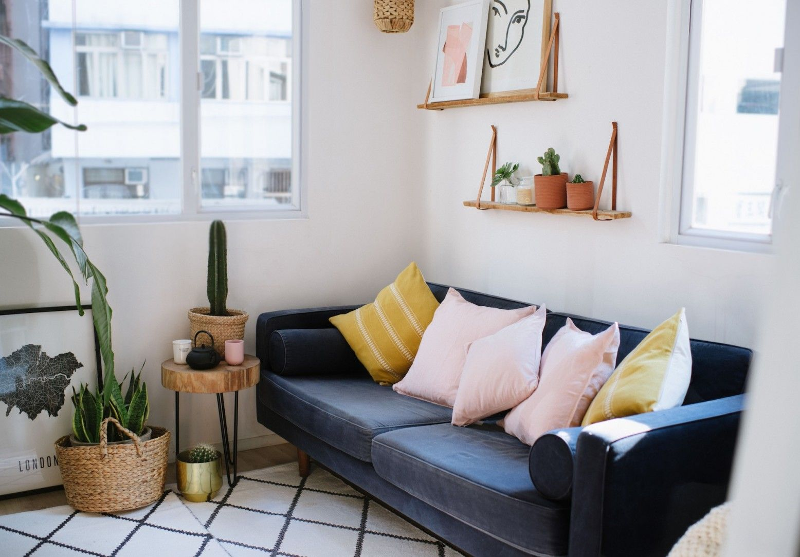Small Spaces Series: How To Make Your Living Space Look (And Feel ...