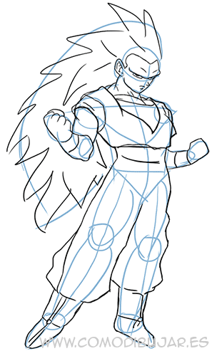 Como Dibujar A Goku Paso 10 Http Comodibujar Es Dibujar Como Dibujar A Goku Super Saiyan Como Dibujar A Goku Dibujo De Goku Goku A Lapiz