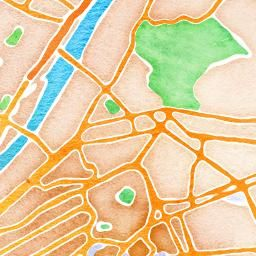 Site that you type in any city and it will bring you to a water color map.  Cool idea for a tattoo maybe of Pittsburgh?
