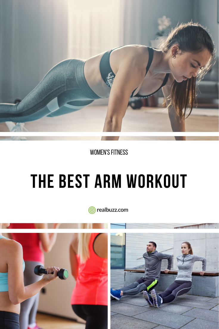 The Best Arm Workout #beginnerarmworkouts Looking for a workout to tone those troublesome arms? Thes...