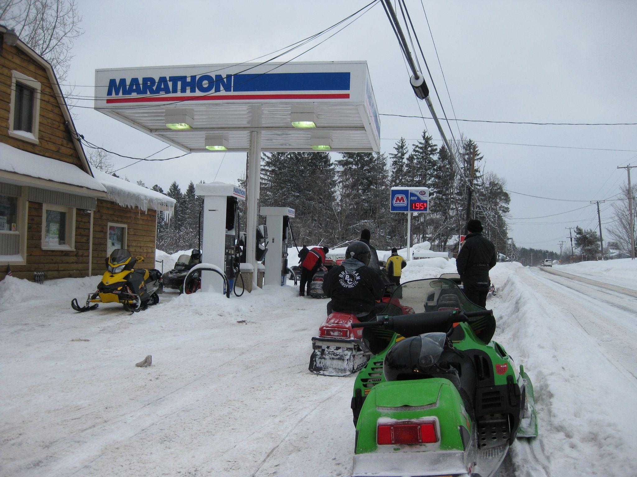 Gas stop across from beachwood inn in erie pa