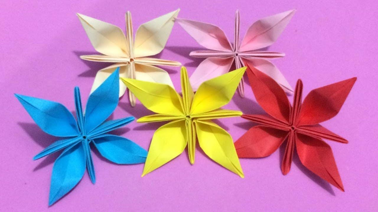 Pin by my ng on origami pinterest diy paper origami and flower how to make origami flower with color paper mightylinksfo