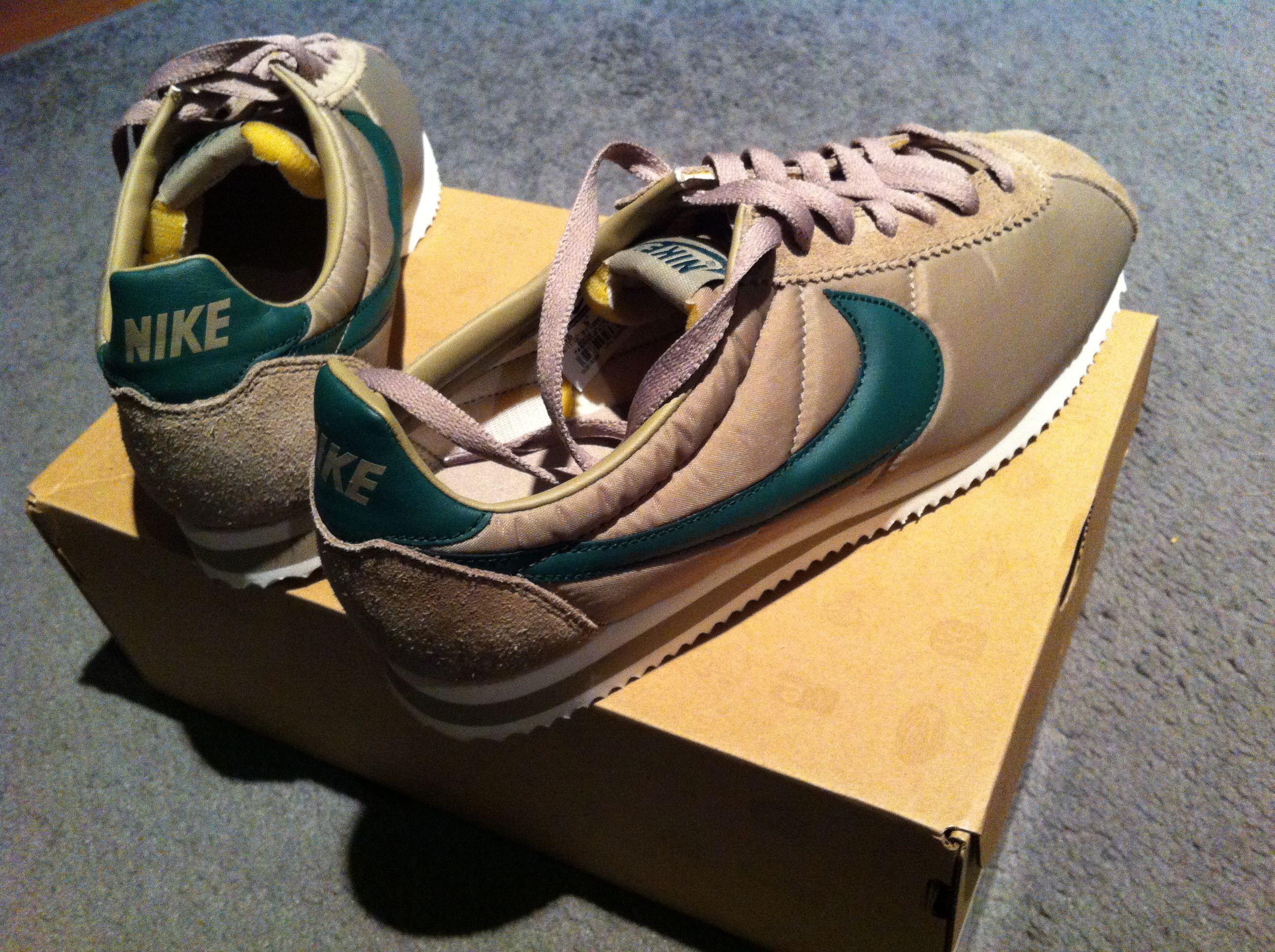 san francisco 42702 5c8c0 Nike Classic Cortez VNTG khaki george green-sail - found their home  -)