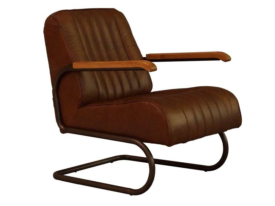 """""""Lampeter"""" Ein klassischer Freischwinger Sessel aus"""