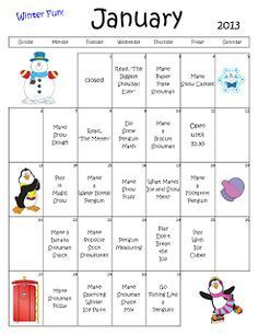 winter themed lesson plan for toddlers  daycare lesson