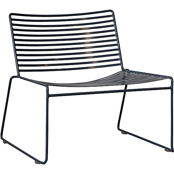 enjoy the shaded indoors and the sunshine of the outdoors alike with the studio outdoor wire lounge chair slate from life interiors