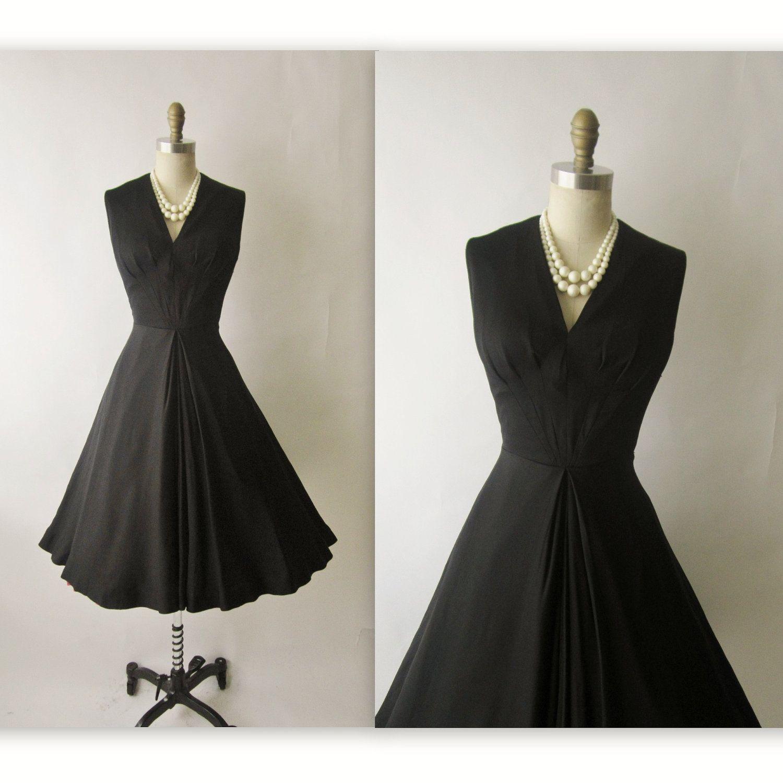 Dress for party wedding  us Cocktail Dress  us Vintage Suzy Perette Black Full