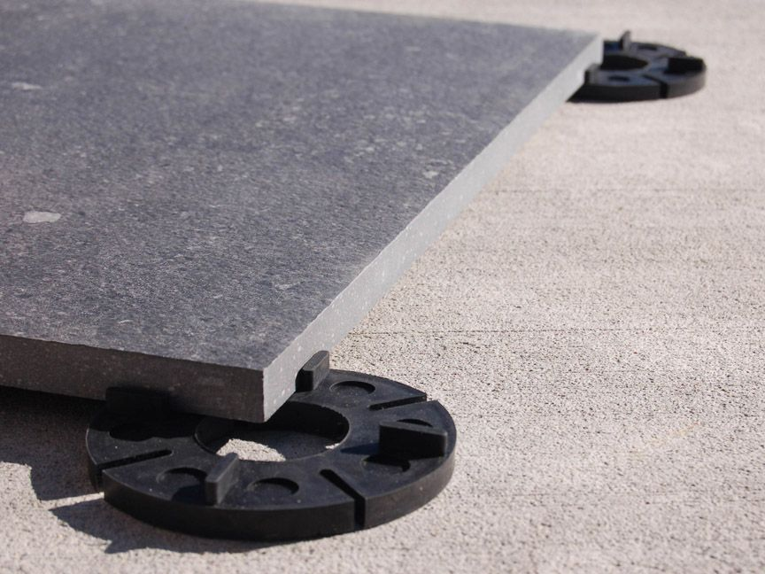 Paver Pedestal With Shims   Google Search