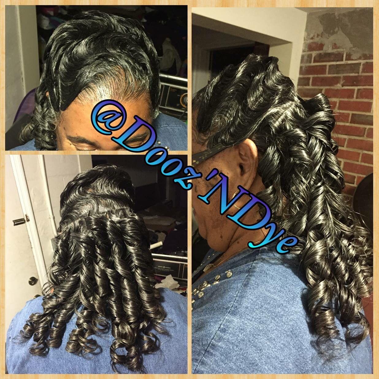 Hairstyles For Black Women Finger Waves Natural Hair Black