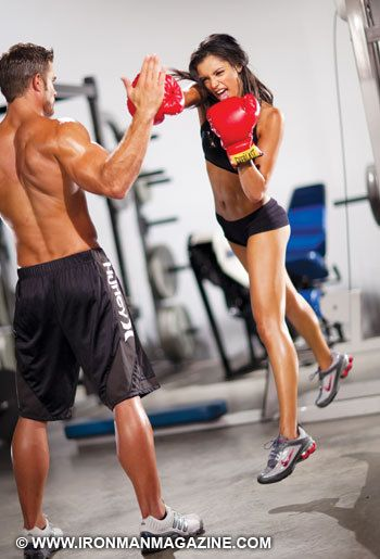 Muffin Top Less Fit Couples Kickboxing Fitness Inspiration