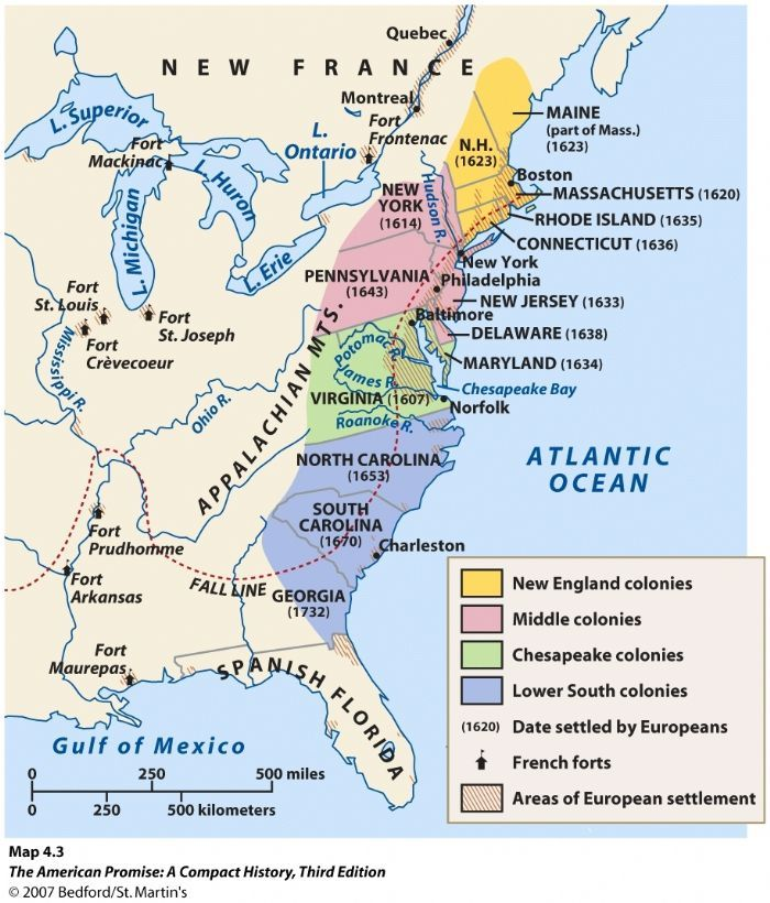 Blank Map Of Original Colonies Printable Blank Map Of - Original thirteen colonies map