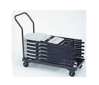 Folding Chair Truck Correll C1940 Storage Cart