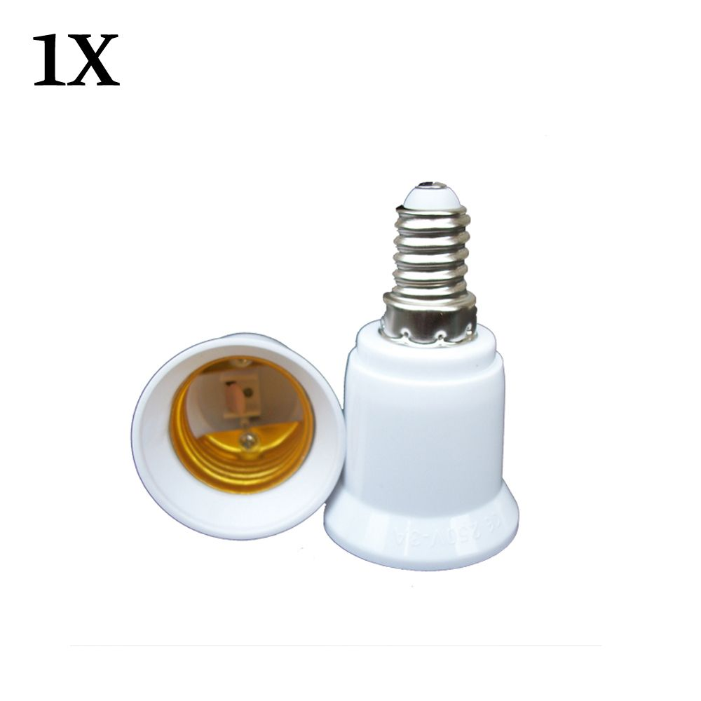 E14 E27 Adapter 1x Converter E14 To E27 Adapter Conversion Socket High Quality