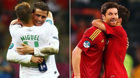Hug me too... #Portugal vs #España #Euro2012