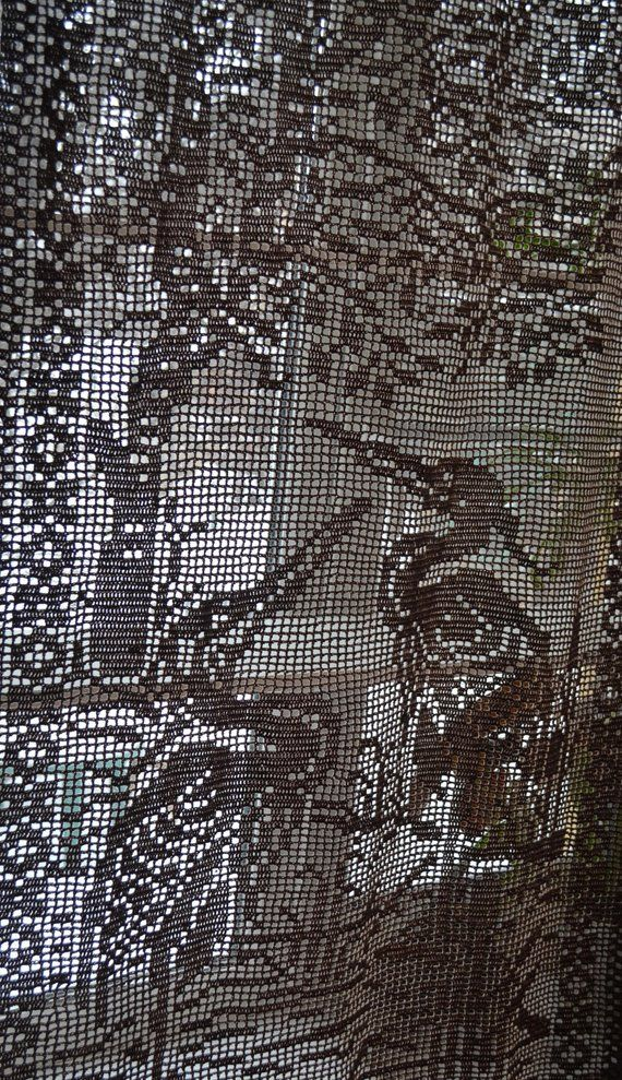 Window Curtain Curtain Crochet Blind For Window Curtain