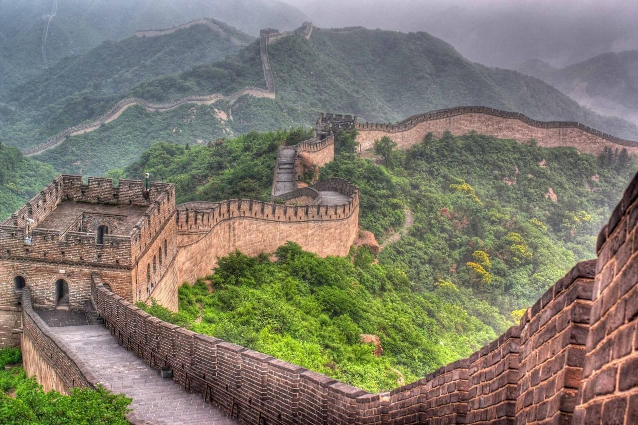 Image result for photograph of chinese great wall