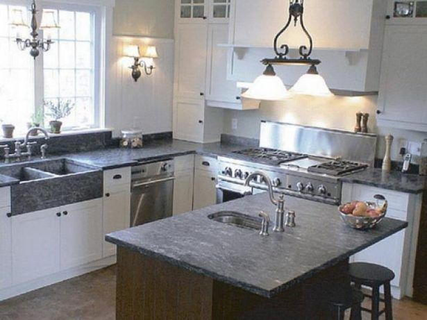 Exceptional Kitchen Kitchen Lamp Decoration Appealing Soapstone Kitchen Countertops  Soapstone Countertops Cost With Regard To Home New Countertop Trends  Intended For ...