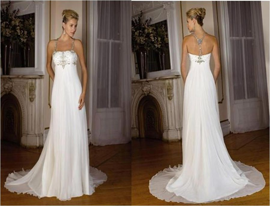 Y And Sleek Wedding Dresses