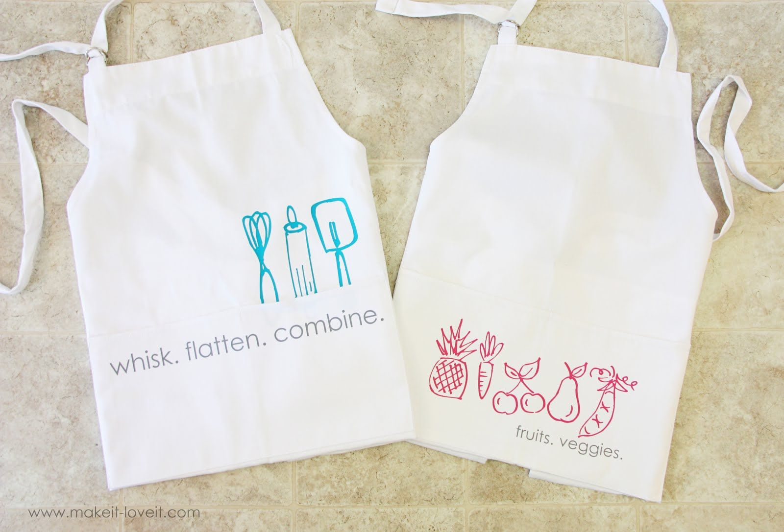 graphic aprons