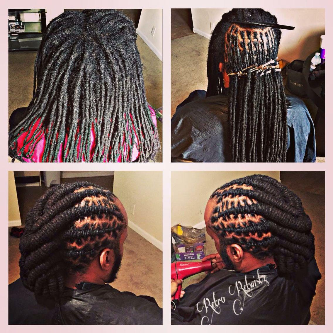 retro retwistz unique braids