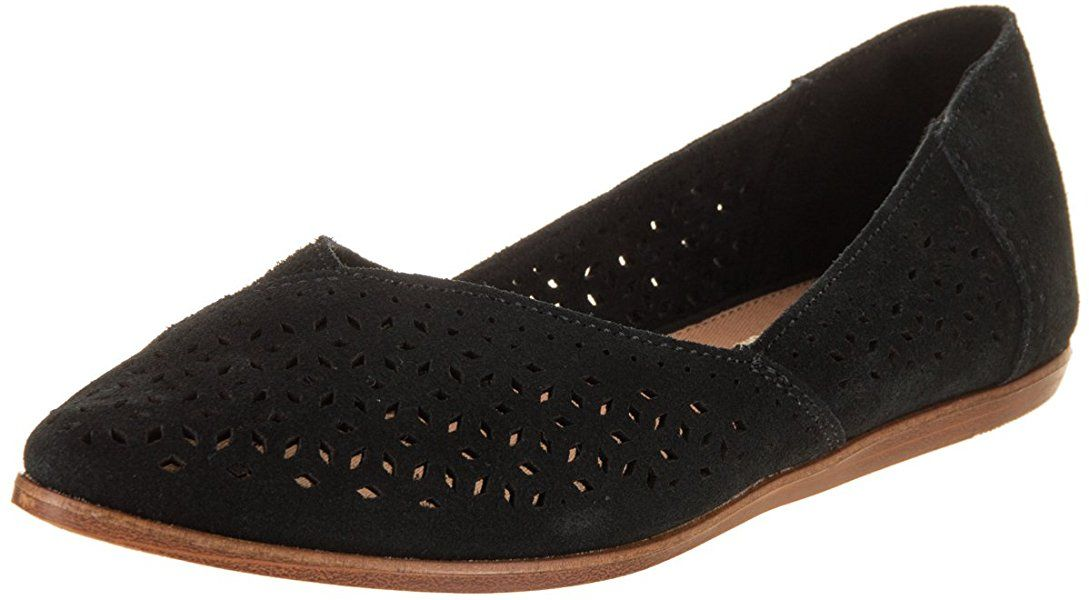 3265809e70c TOMS Women s Diamond Jutti Pointed Toe Flat (7.5 B(M) US