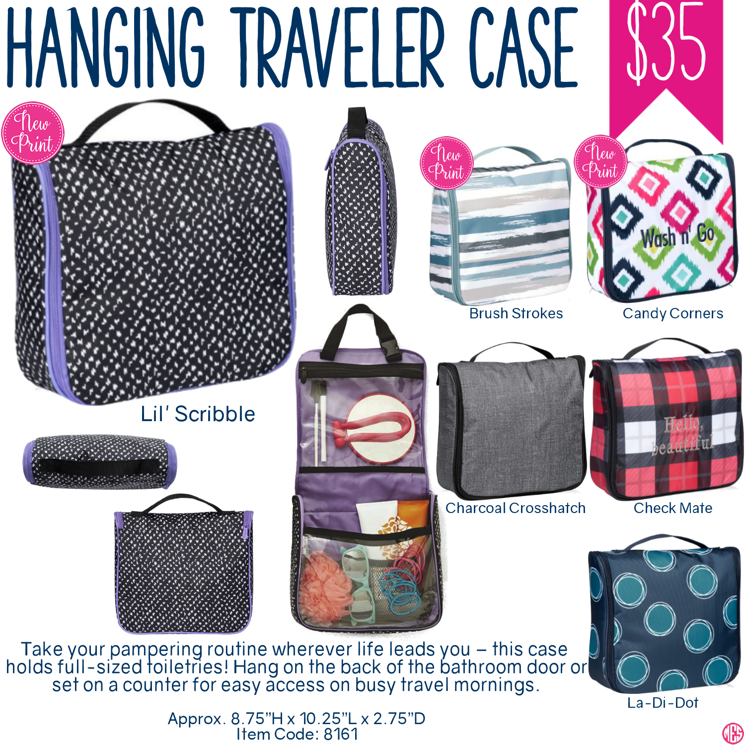 thirty one hanging traveler case spring summer 2017 so many uses