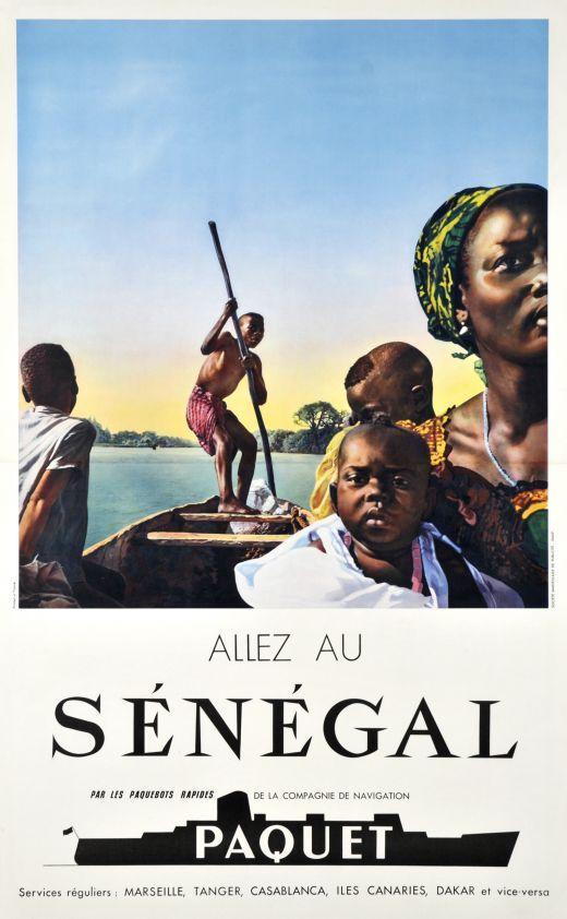 Compagnie de Navigation Paquet, Allez au Sénégal