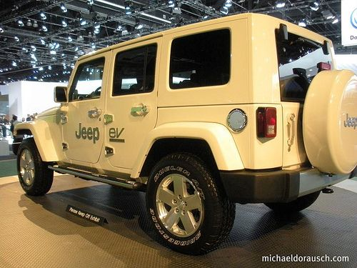 Jeep Wrangler Unlimited Electric Ev Side Left In 2020 Jeep