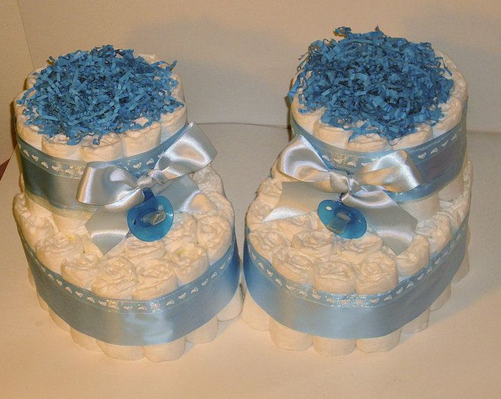 Adorable diaper creations great baby shower ideas for Diaper crafts for baby shower