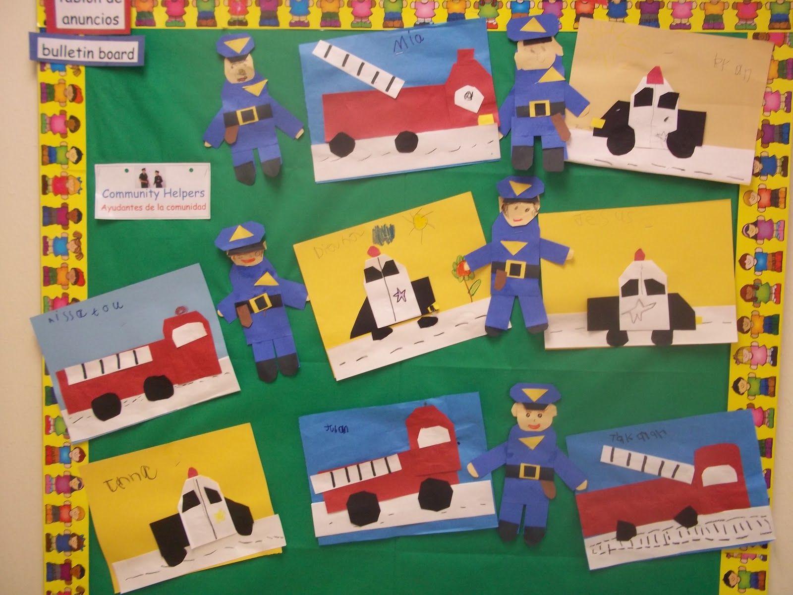 Kinder Garden: Mrs. Wood's Kindergarten Class: Community Helpers