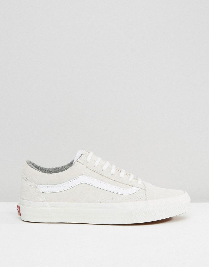 813e6ed5313 Image 2 of Vans Old Skool Nude Suede Trainers | Shoes | Pinterest