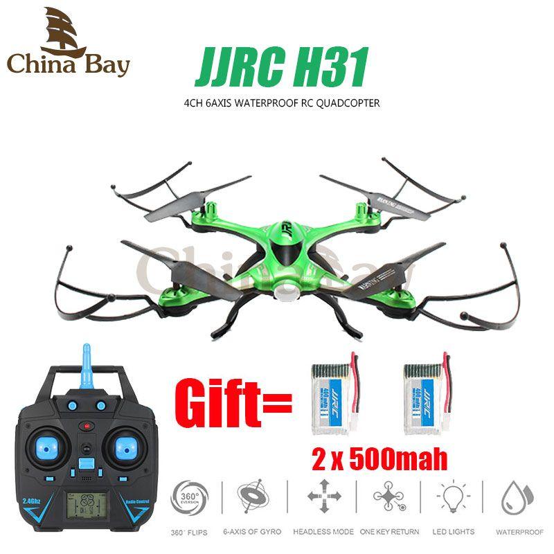 Impermeable drone jjrc h31 ninguna cámara o con cámara o wifi modo sin cabeza de la cámara fpv rc helicóptero quadcopter vs syma x5c dron