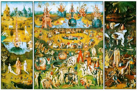 Hieronymus Bosch Garden Of Earthly Delights Photo At Allposters