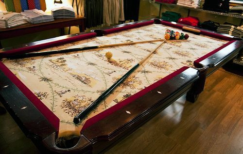 Marvelous Custom Pool Table Felt