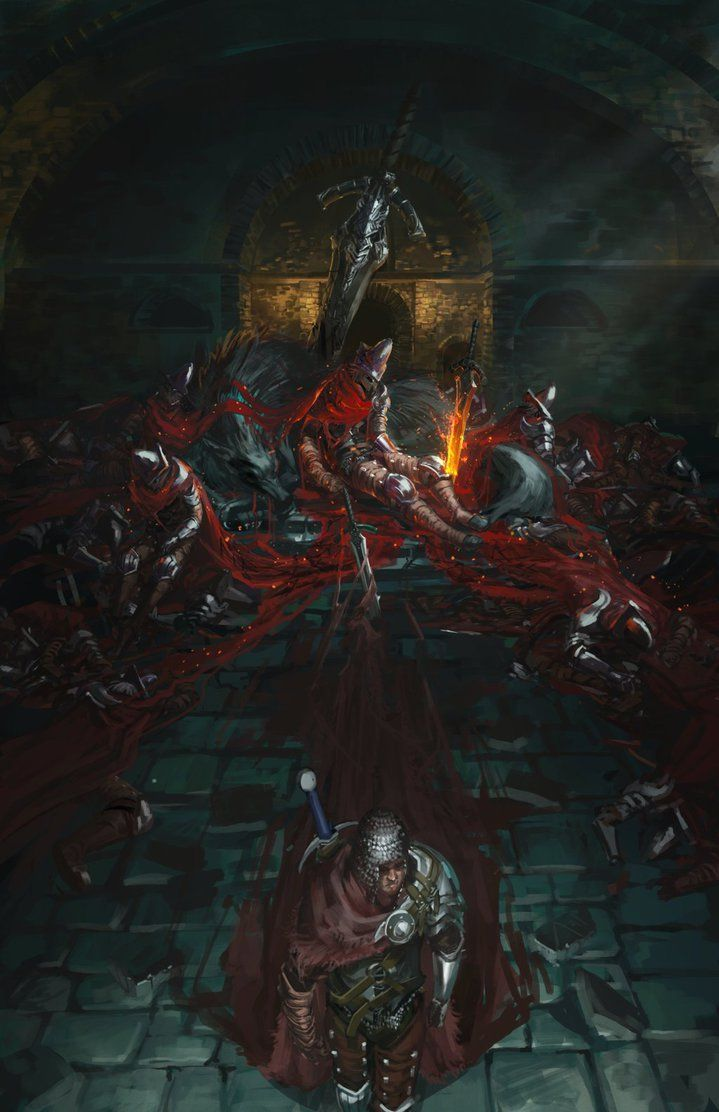 Dark souls 3 - Abyss Watchers by Ishutani.deviantart.com on @DeviantArt