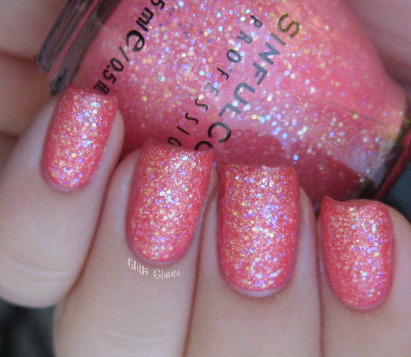 Pinky Glitter. I have it :)   Polish & Shine   Sinful colors nail ...