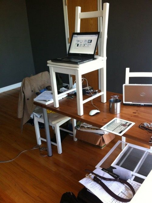 DIY standing desks Google Search Healthy Work Pinterest